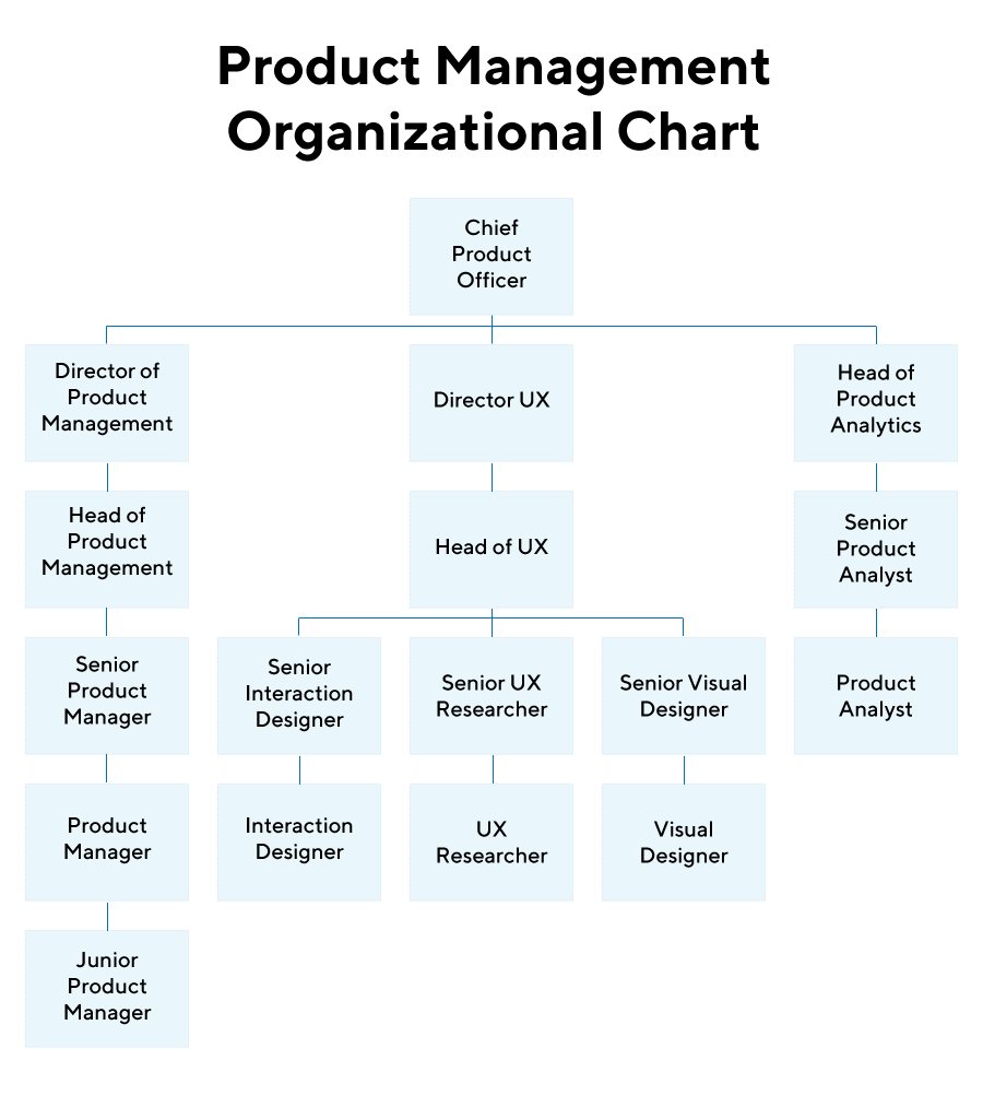 Product Management Org Chart
